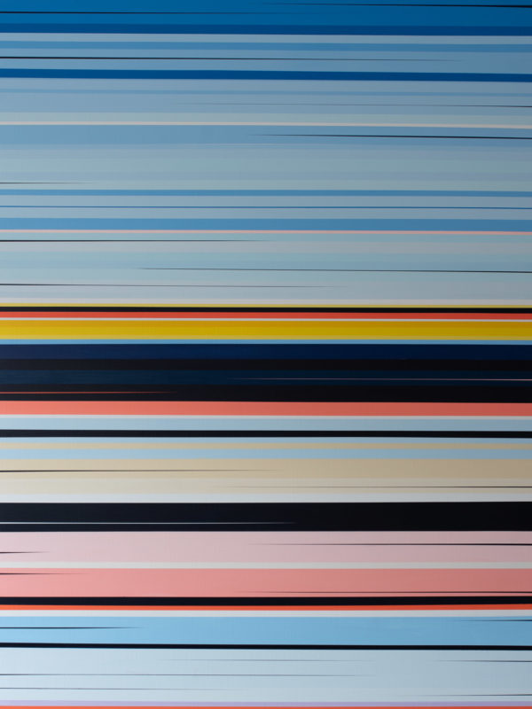 Untitled (Miami series) - 2016, 160 cm x 120 cm, Acrylic on linen