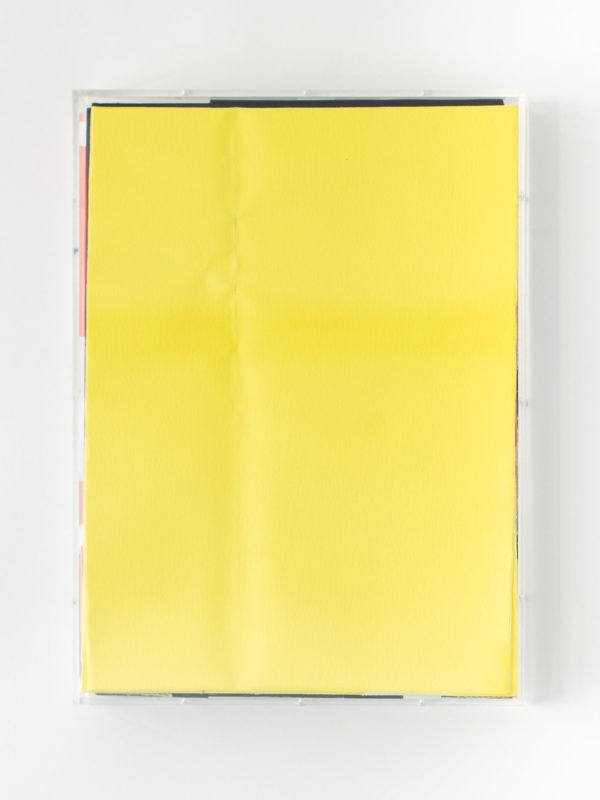 Stacked painting #5 (Yellow monochrome)